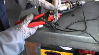 How to replace a damaged drill flex