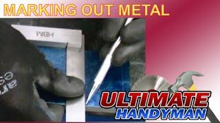 How to mark out metal