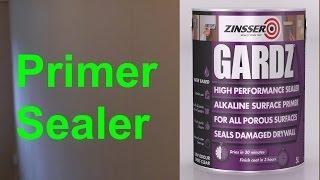 Zinsser Gardz | Drywall sealer/primer