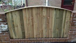 How to make a feather edge fence panel