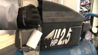 How to change the motor start capacitor