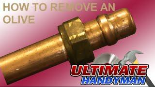 How to remove a ferrule