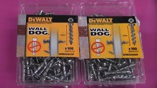 Dewalt wall dogs