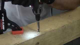 How to use Clutch head screws