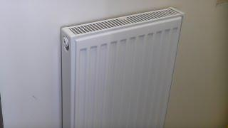 How to fix a radiator to Drywall