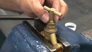 How to repair a leaking stop tap