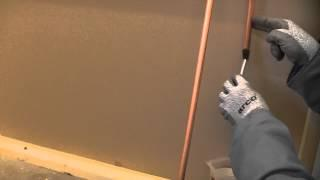 How to solder a wet pipe